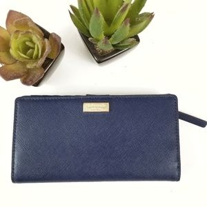 kate Spade Stacy Wellesley Wallet in Blue